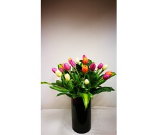 FM109(18 tuilps.vase  include)